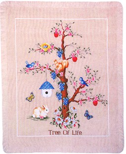Wichelt Imports Tree of Life Afghan