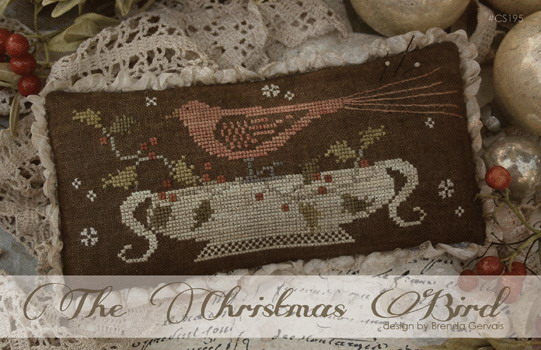 With Thy Needle CTS195 The Christmas Bird