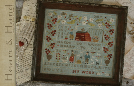 With Thy Needle CTS203 Heart & Hand Sampler
