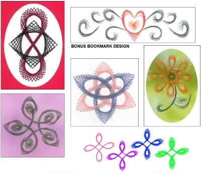 X's & Oh's Celtic Knots - Paper Embroidery 1