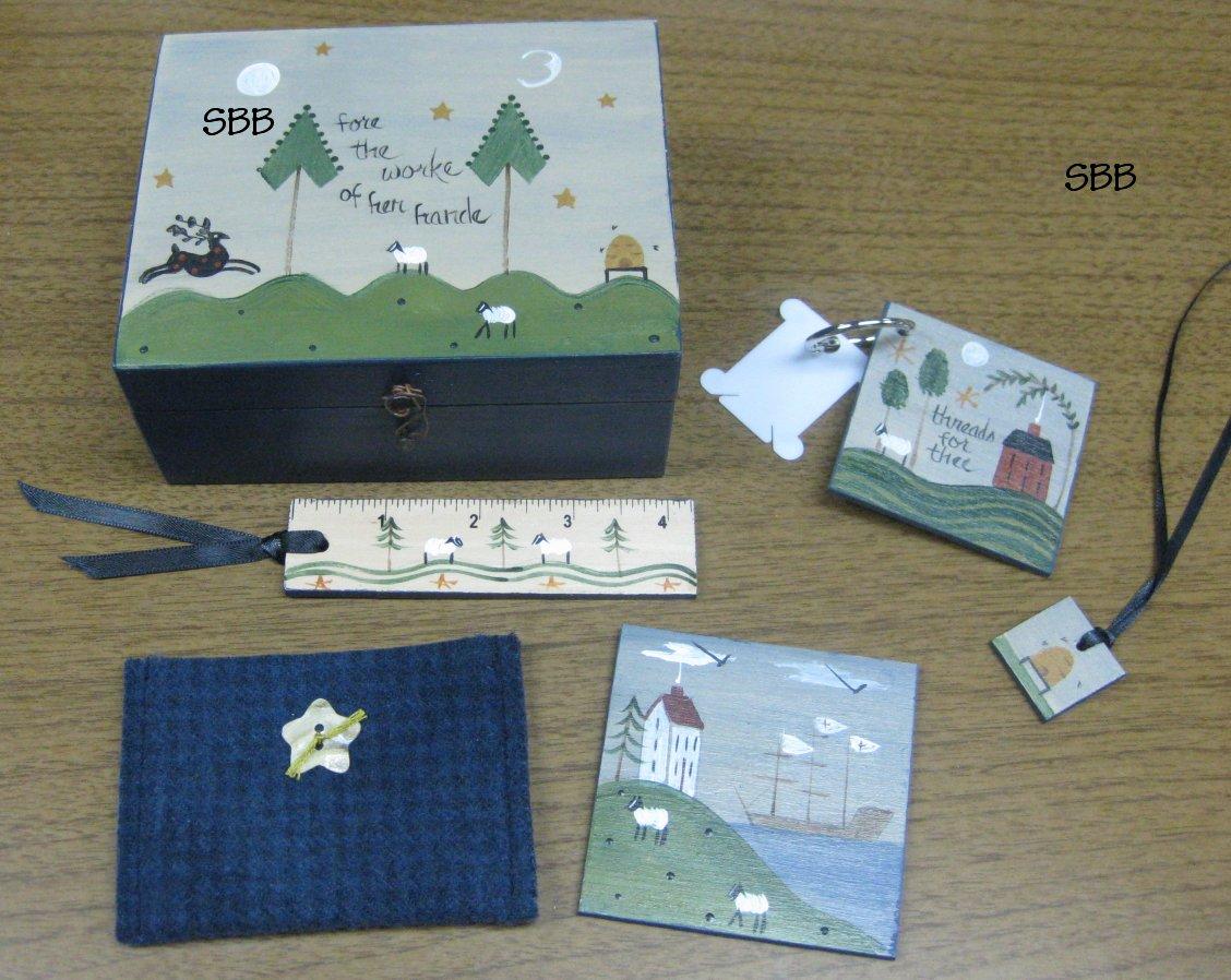 Liberty Hill  Limited Edition ~ A Stitcher's Companion Box