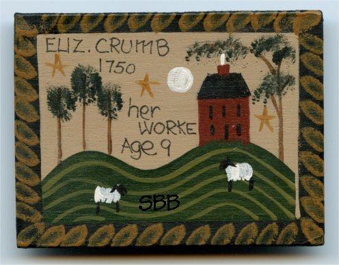 Liberty Hill  Limited Edition ~ Eliz Crumb Pin