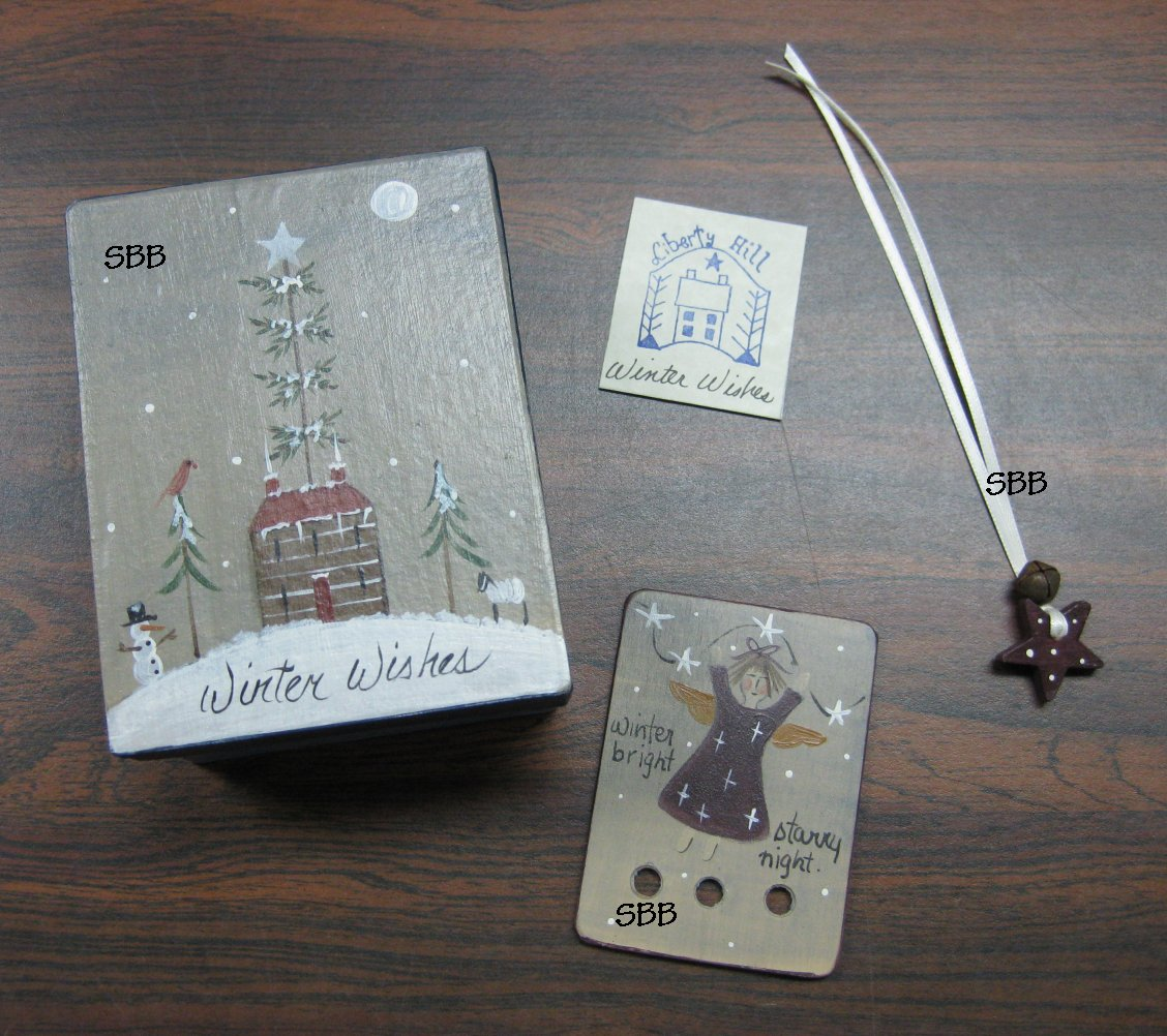 Liberty Hill Limited Edition Winter Wishes Stitching Box